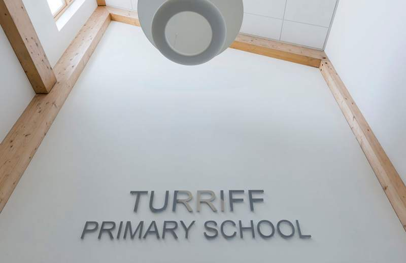 Turiff Primary School G Frame Cross Laminated Timber