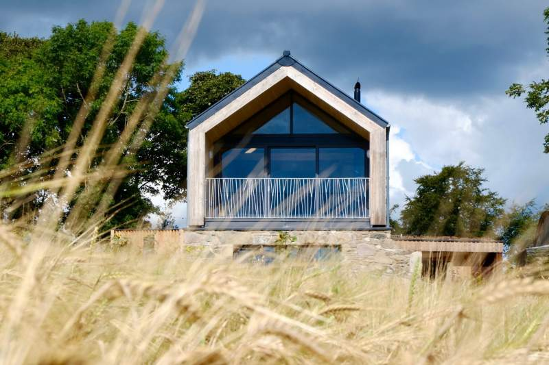 County Down Barn G Frame Cross Laminated Timber Clt